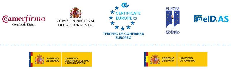 Avisos Certificados Firma