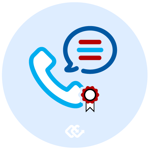 Certified Calls Voice Text Conference Certificate