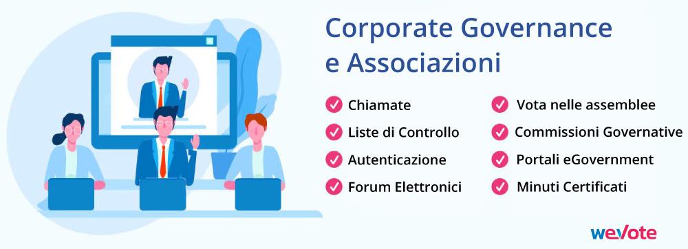 corporate governance e associazioni wevote full certificate