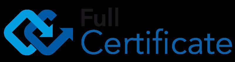 Logo Full Certificate
